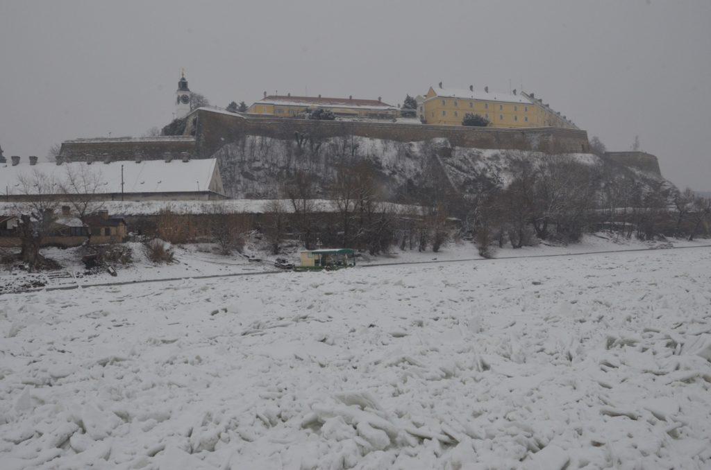 Led na Dunavu kod Novog Sada, 18. 1. 2017.