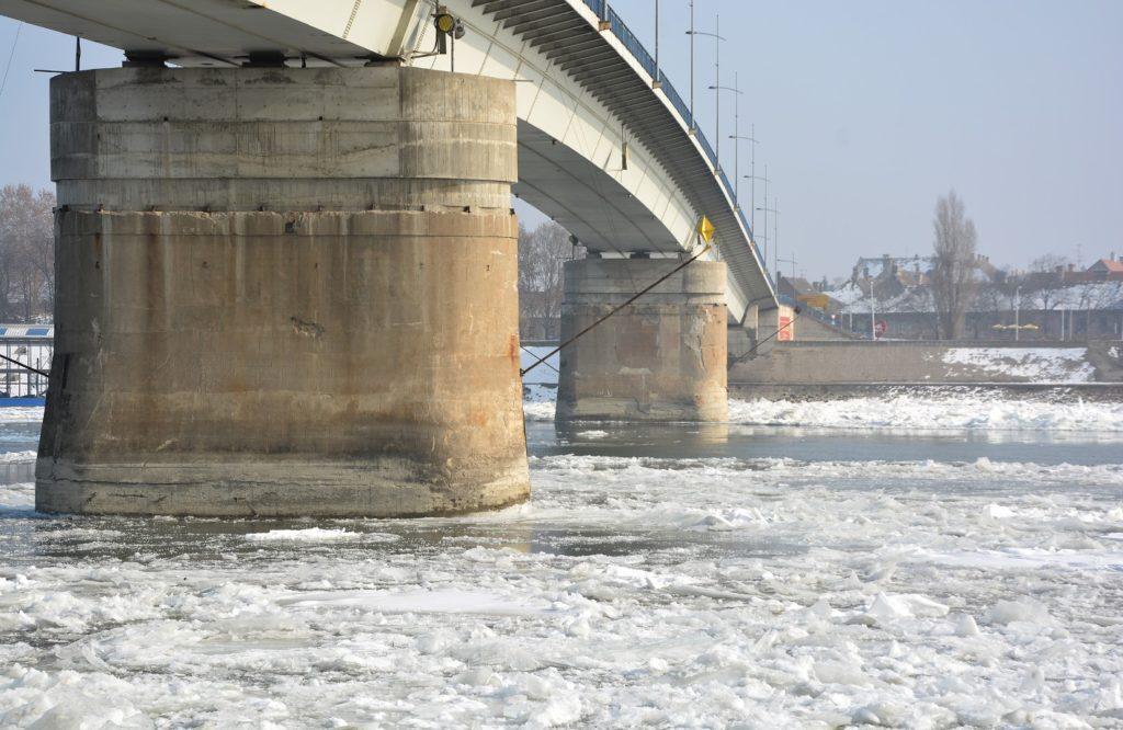 Ledohod kod Novog Sada, 31. 1. 2017.